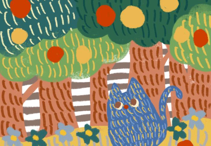 しましまの森